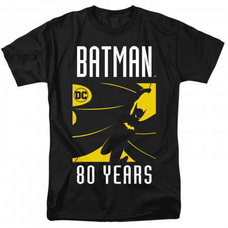 Batman 80th Silhouette Men's T-Shirt
