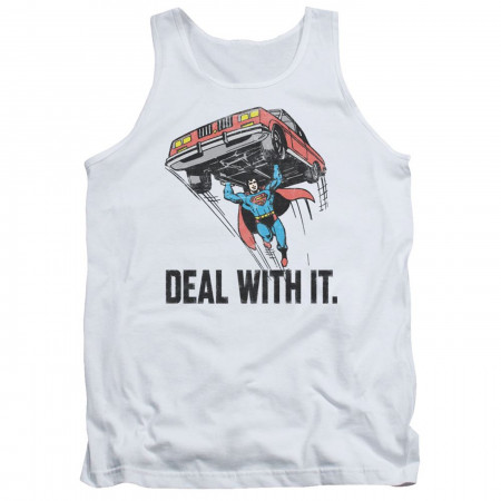 Superman Deal With It Tank Top