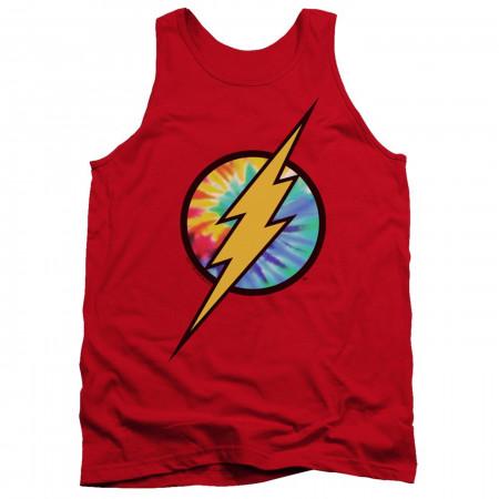 Flash Tie Dye Logo Tank Top