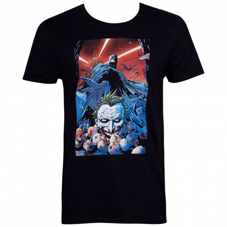 Batman Face of Death Comic Cover Men's T-Shirt