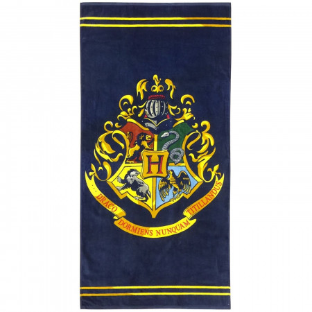 Harry Potter Classic Crest Beach Towel