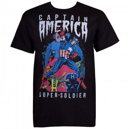 Captain America Classic Super Soldier Men's T-Shirt