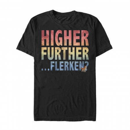 Higher Further Flerken Men's T-Shirt