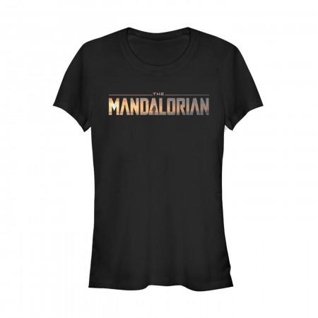 Star Wars The Mandalorian Logo Women's T-Shirt