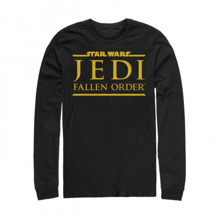 Star Wars Jedi Fallen Order Long Sleeve Shirt