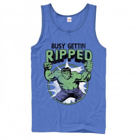 Hulk Getting Ripped Tank Top