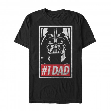 Darth Vader Number One Dad T-Shirt