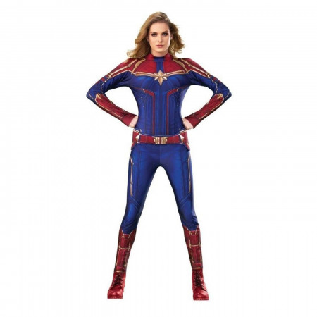 Captain Marvel Deluxe Costume