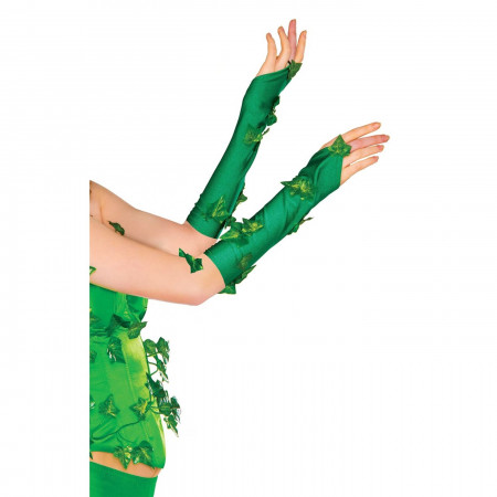 Poison Ivy Costume Gloves