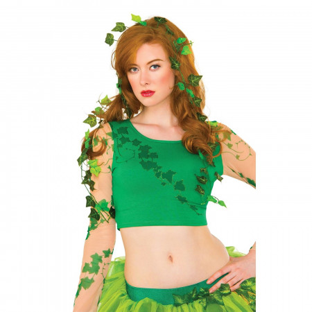 Poison Ivy Leaves Costume Pieces