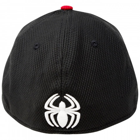 Spider-Man Stealth Suit Armor New Era 39Thirty Flex Fitted Hat