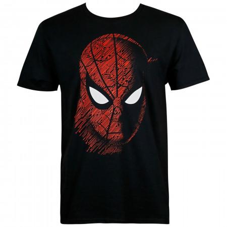 Spider-Man: Far From Home Tech Pattern Men's T-Shirt