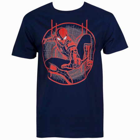 Spider-Man Far From Home Character and Symbol Men's T-Shirt