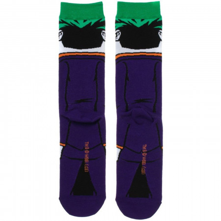 Joker Rebirth 360 Character Crew Socks