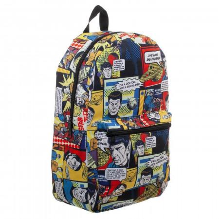 Star Trek All Over Print Comic Sublimated Backpack