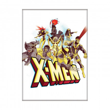X-Men Cartoon Cast Magnet