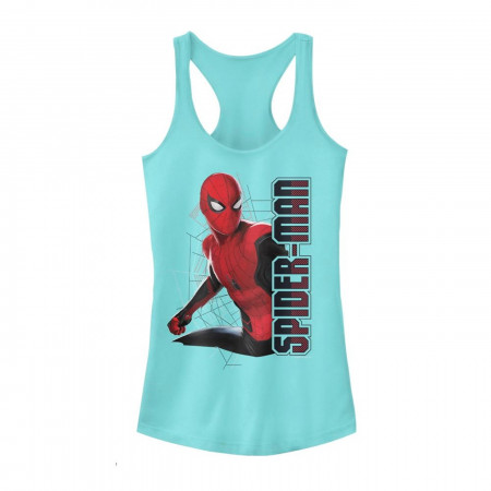 Spider-Man: Far From Home Web Coordinates Women's Tank Top