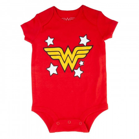 DC Comics Wonder Woman Logo Infant Bodysuit