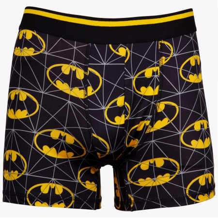 Batman Logo Print Boxers Briefs