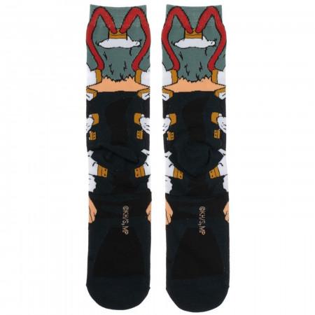 My Hero Academia Shigaraki 360 Character Crew Socks