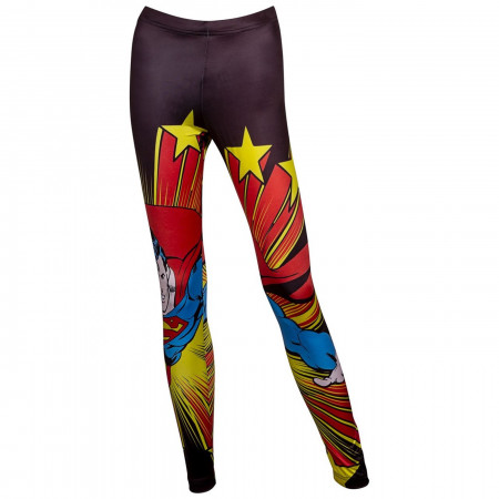 Superman Action Leggings