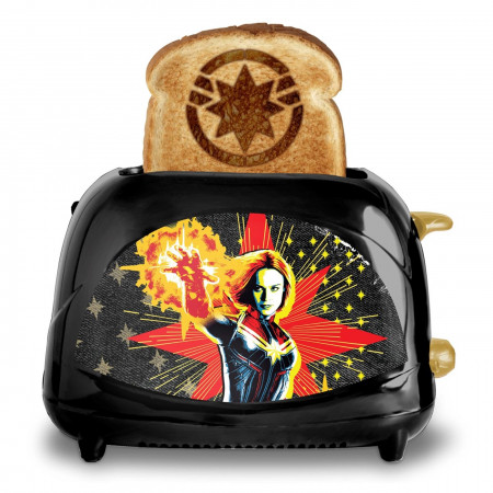 Captain Marvel Toaster