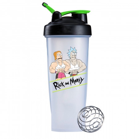 Rick and Morty Ripped Blender Bottle