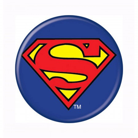 Superman Symbol Button