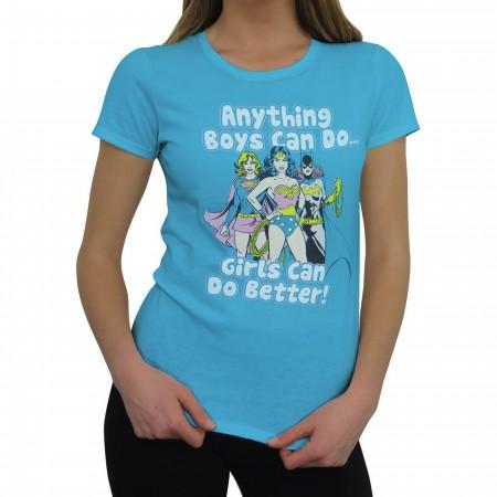 DC Girls Do It Better Women's T-Shirt