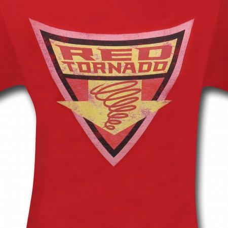 Red Tornado Brave & Bold Symbol T-Shirt