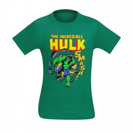 HULK Smashing Through Wall T-Shirt