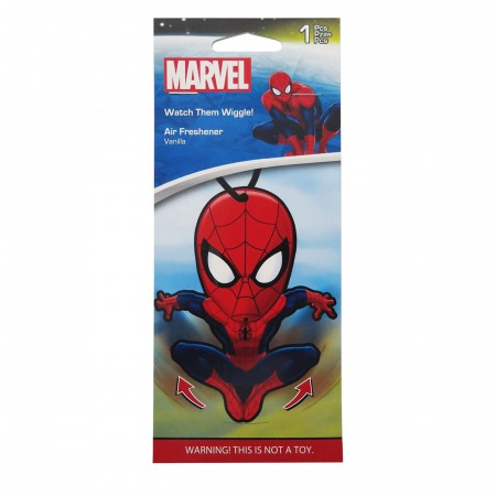 Spiderman Wiggle Vanilla Air Freshener