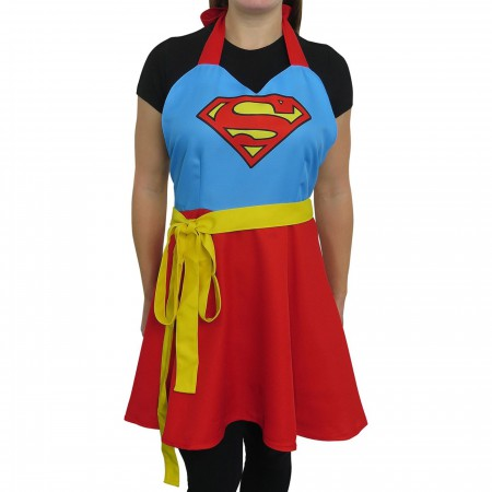Supergirl Fashion Apron