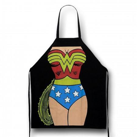 Wonder Woman Figure Cooking Apron