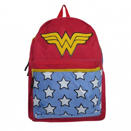 Wonder Woman Belt Strap Red Backpack