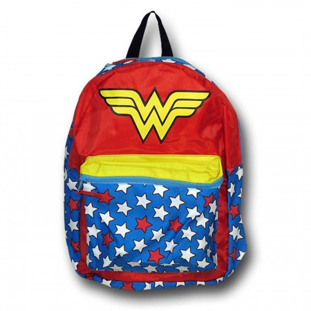 Wonder Woman Backpack with Removable Cape