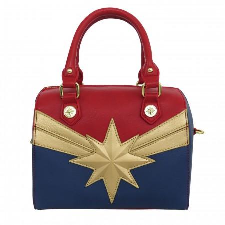 Captain Marvel Costume Loungefly Crossbody Handbag