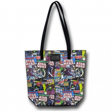 Star Wars Comic Cover Faux Leather Bag