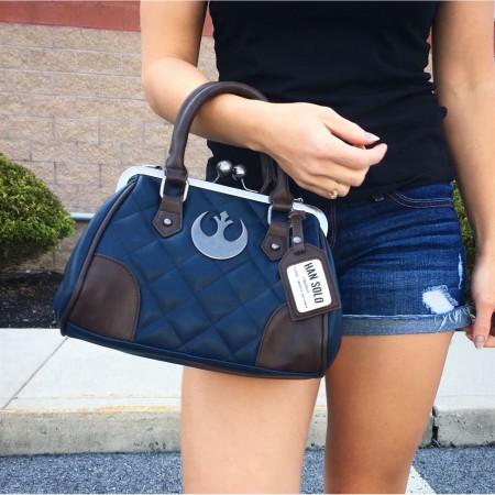 Star Wars Han Solo Hoth Suit Kiss Lock Handbag