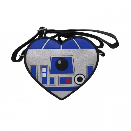 Star Wars R2D2 Heart Faux Leather Crossbody Bag