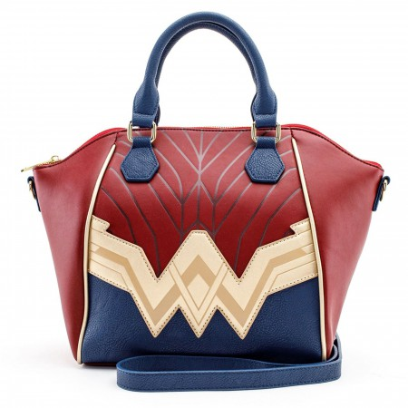 Wonder Woman Justice League Armor Cross Body Bag