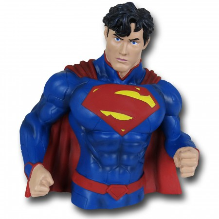 Superman New 52 Bust Bank