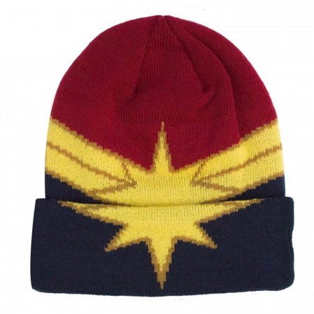Captain Marvel Armor Weave Knit Unisex Beanie