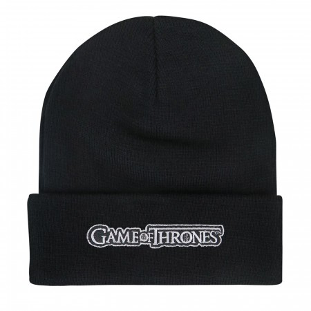 Game of Thrones House Stark Beanie