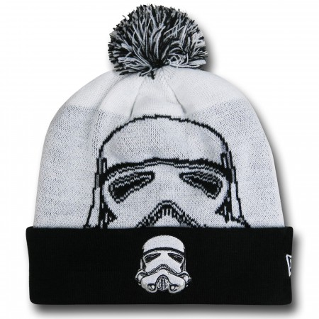 Star Wars Trooper Big Face Pom Pom Beanie