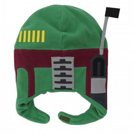 Star Wars Boba Fett Kids Costume Peruvian Youth Beanie