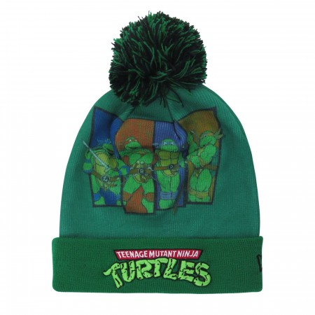 Teenage Mutant Ninja Turtles Kids Pom Pom Youth Beanie