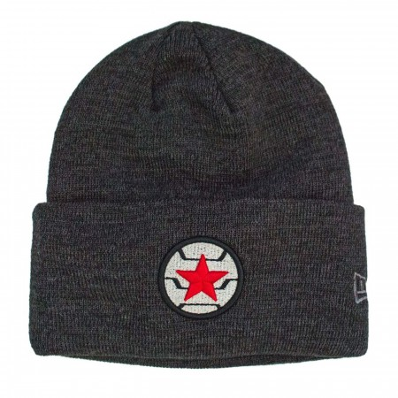 Winter Soldier Logo Unisex Knit Beanie