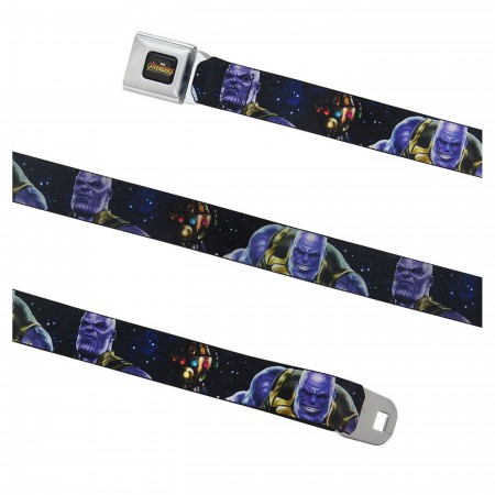 Avengers Infinity War Thanos Kids 1.0 Seatbelt Belt