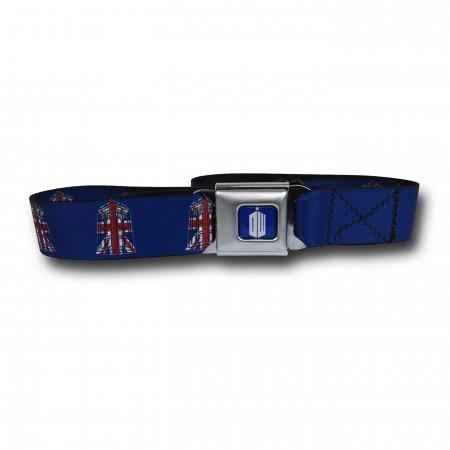 Doctor Who Union Jack Seatbelt Belt